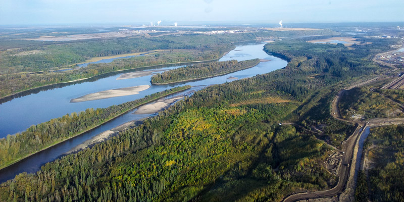Surface and Groundwater Management in the Oil Sands Industry