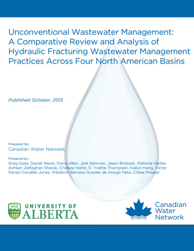 Unconventional Wastewater Management: A Comparative Review and Analysis of Hydraulic Fracturing Wastewater Management Practices Across Four North American Basins