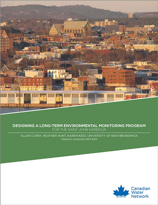 Designing a long-term environmental monitoring program for the Saint John Harbour