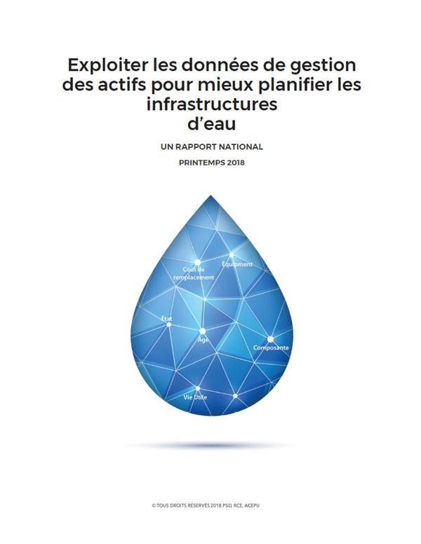 Exploiter les données de gestion des actifs pour mieux planifier les infrastructures d'eau